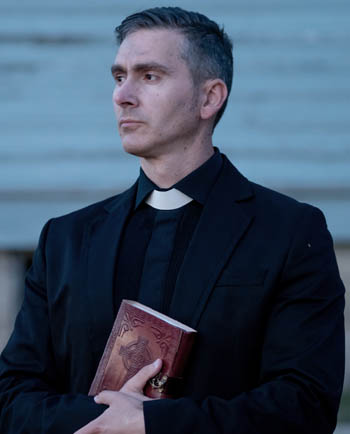 Father Lorcan Connolly - Played by Neil Chase - Rutherford Manor